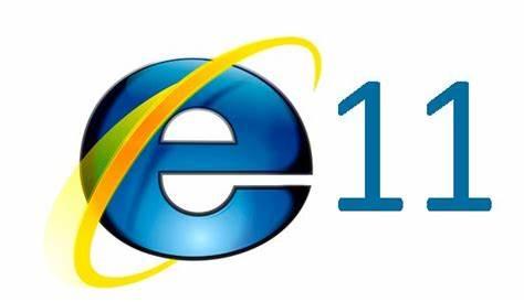 Logo Internet Explorer 11