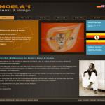 Screenshot der Website: noelaskunst-design.de