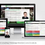 Kundenreferenz: www.haus-sicherheit.info - Responsive Design Ansichten