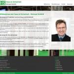 Kundenreferenz: www.haus-sicherheit.info - Desktopansicht