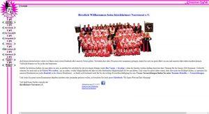 Screenshot der Home-Seite von kirnarra.de am 07.11.15
