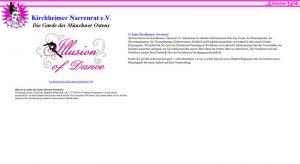 Screenshot der Intro-Seite von kirnarra.de am 07.11.15