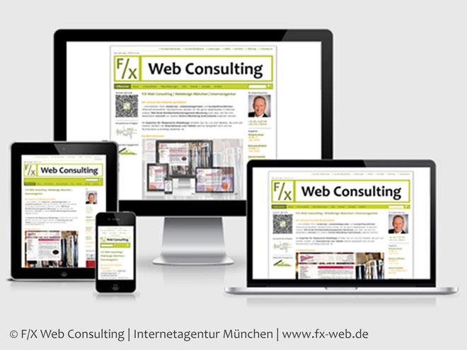 Screenshot unserer Website nach der Umstellung auf Responsive Webdesign im März 2015