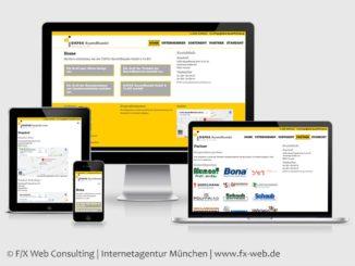 Screenshot der Website von DAFSA Baustoffhandel GmbH & Co. KG