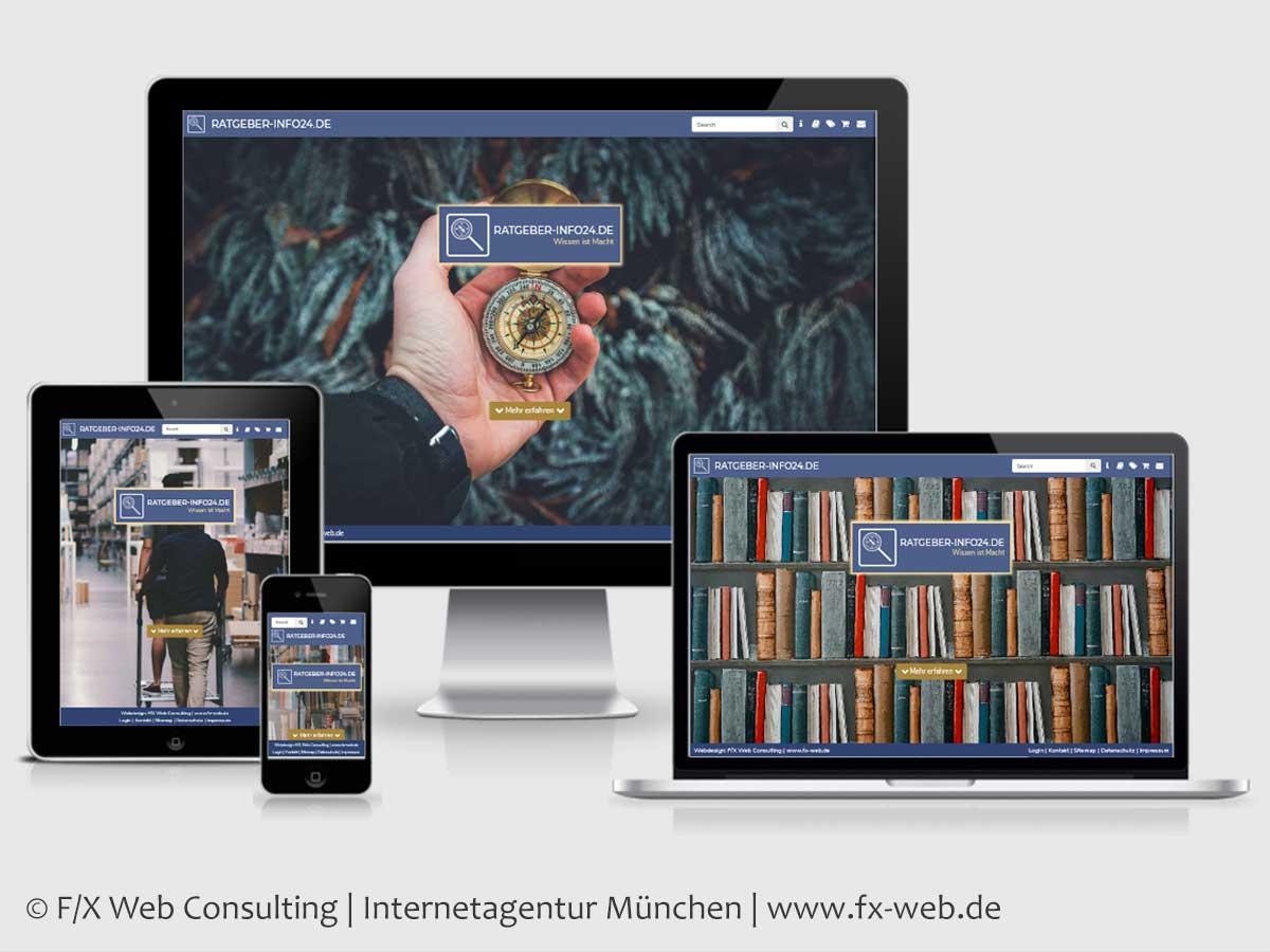 Screenshot der Website von RATGEBER-INFO24.DE